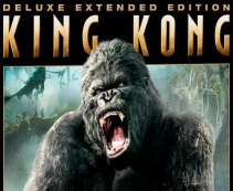 The mighty Kong roars on the cover of his Extended Edition DVD.