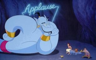 This screengrab from ALADDIN pretty much says it all about Eric Goldberg's work.