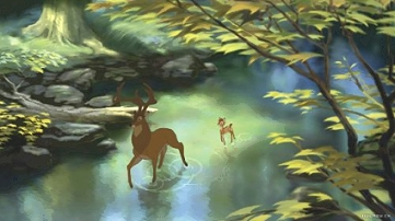 The Great Prince leads Bambi in the Disney sequel.
