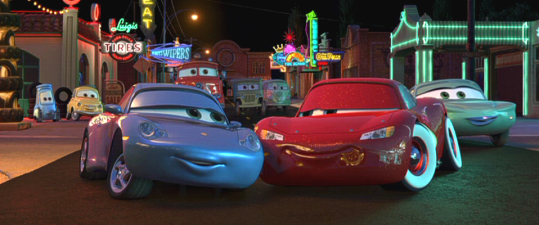 Cars Animated Views