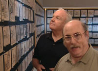 Burny Mattinson (left), Eric Goldberg (right)