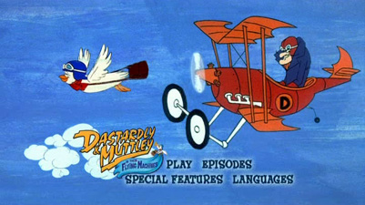 Dick dastardly and muttley mutt