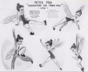 Early designs for Tinker Bell are introduced, in the PETER PAN Platinum Edition feature 'TINKER BELL: A Fairy's Tale.'
