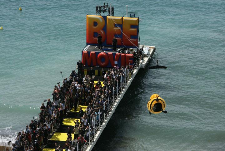 Bee Movie trailer, Cannes foota...