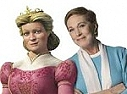 Queen Lillian and her voice actress Julie Andrews
