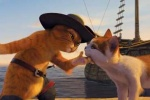 Puss and a feline friend, in SHREK THE THIRD