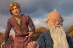Artie and Merlin, in SHREK THE THIRD