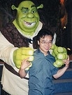 Shrek and Raman Hui