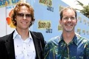 Directors Ash Brannon and Chris Buck at the SURF'S UP premiere