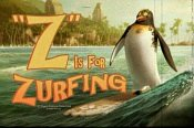 "An ad reads ""'Z' Is For Zurfing,"" in SURF'S UP"