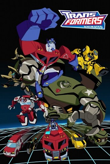 TRANSFORMERS ANIMATED poster (small version)