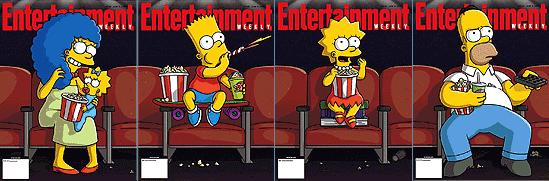 Mike Scully On The Simpsons Movie Animated Views