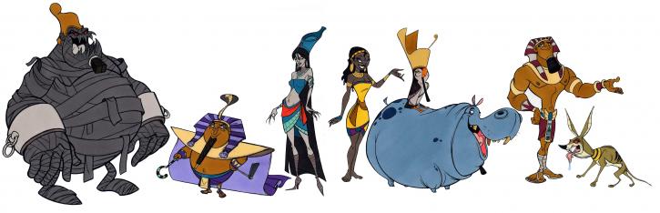 Aida concept art