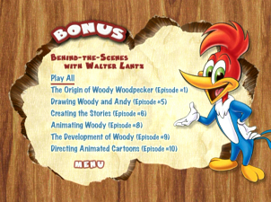 woody woodpecker and friends classic cartoon collection dvd