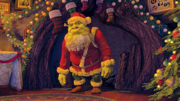 COM BACK SHORT DREAMWORKS Shrek_the_halls_shrek_as_sa