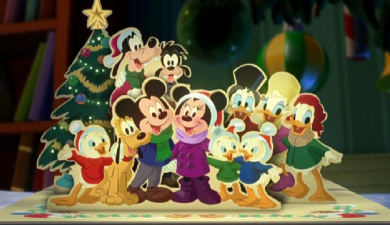 Mickey's Twice Upon A Christmas • Animated Views