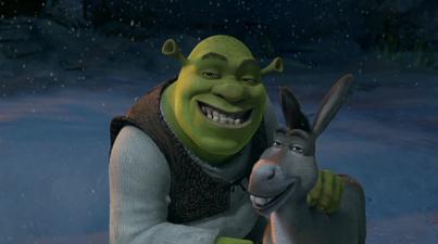 Shrek Christmas.Shrek The Halls Animated Views