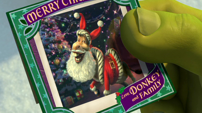 Shrek christmas experience gifts