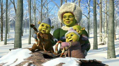 Shrek The Halls • Animated Views