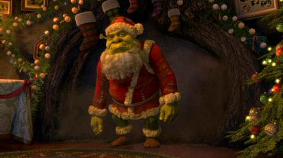 Shrek Christmas.Shrek The Halls Christmas Tv Eh