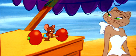 Tom and jerry in beach