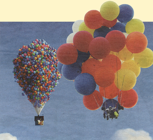 Up House Balloons Close Up Balloons. it's not a house Up House Pixar ...