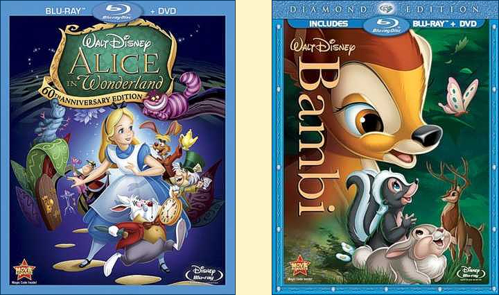 Disneyu2019s 2011 animated classic cover art u2022 Animated Views