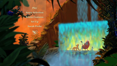Lion King DVD Menu