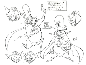Artist Bob Camp Recalls The Ill Fated Space Jam 2