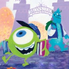 Open the door to the art of monsters university animated views voltagebd Choice Image