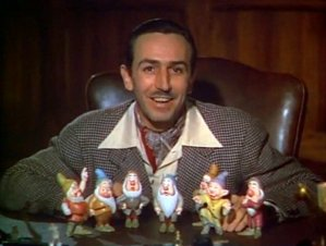 Walt Disney introduces the Seven Dwarfs
