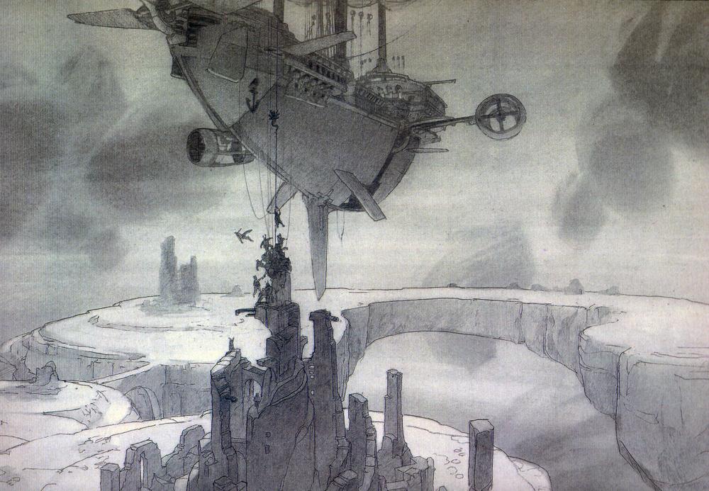 La Planète au Trésor - Un Nouvel Univers [Walt Disney - 2002] - Page 12 Centurion-parked-over-Botany-Bay-Prison-Asteroid1