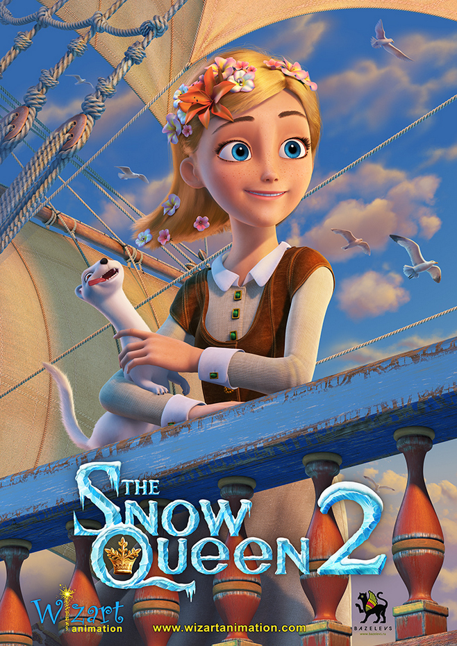 Wizart S Snow Queen 2 Gets New Poster Images Animated Views