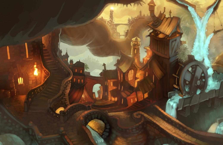 La Planète au Trésor - Un Nouvel Univers [Walt Disney - 2002] - Page 12 Treasure-Planet-2-pirate_town_B14-001