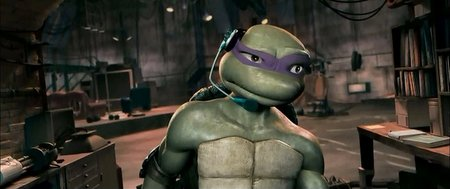 tmnt animated movie 2007