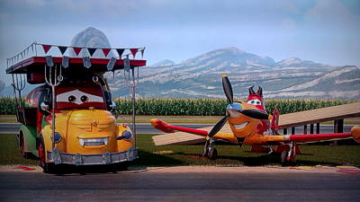 Planes fire rescue animated views welcome to piston peak isnt a making of but a jokey touristy guide to the films central locale using pixar style postcards and clips from the movie voltagebd Choice Image