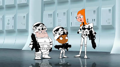Phineas And Ferb Star Wars – Animated Views