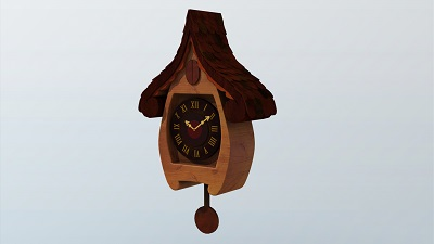 Cuckoo_clock..Model.Texture Ruchita Jeswal2