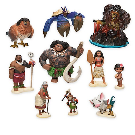 New Moana Characters Revealed In Disney Store Merchandise