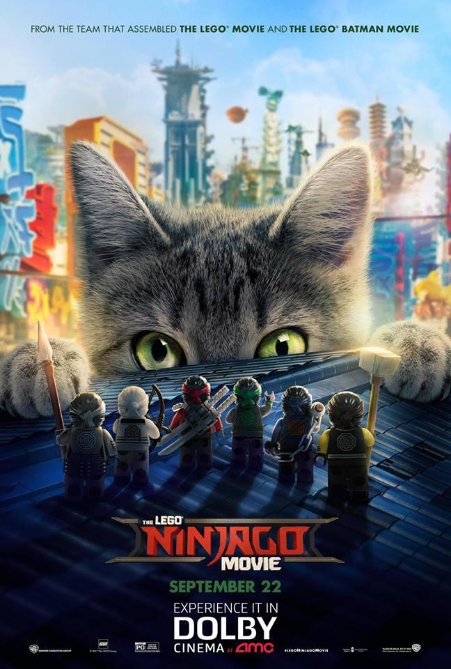 New Lego Ninjago Movie poster revealed • Animated Views