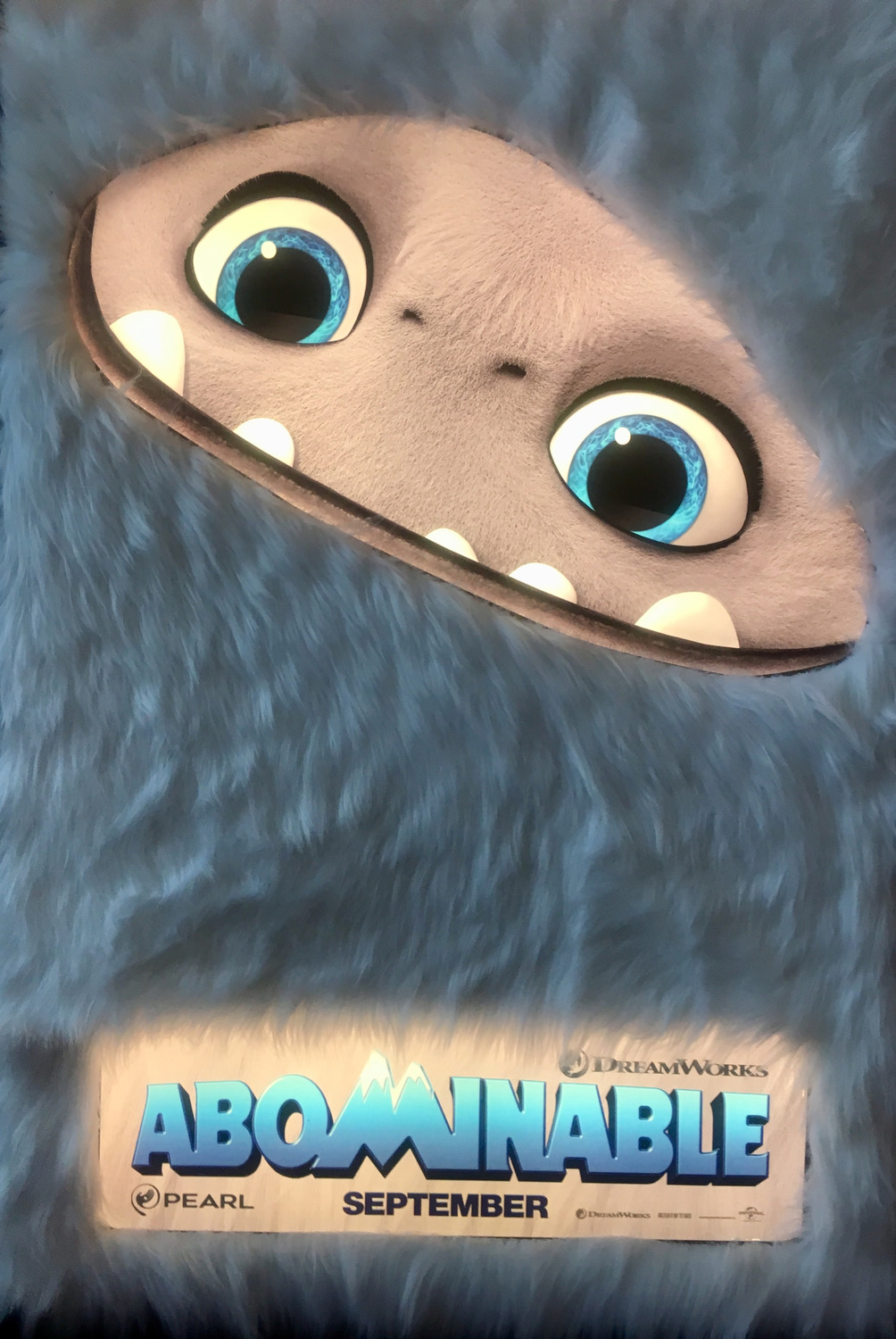 first abominable poster released  u2013 animated views