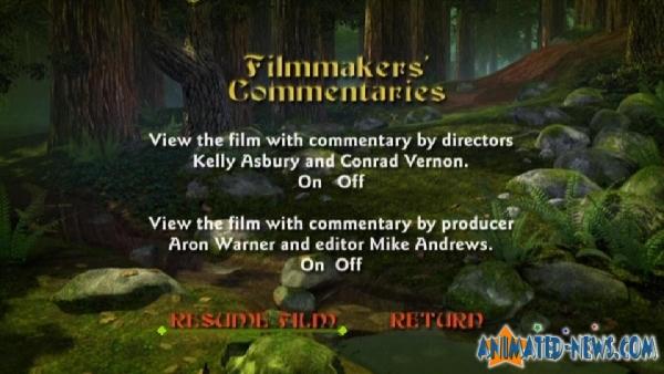 Exclusive Shrek 2 Dvd Menu Descriptions And Screen Shots