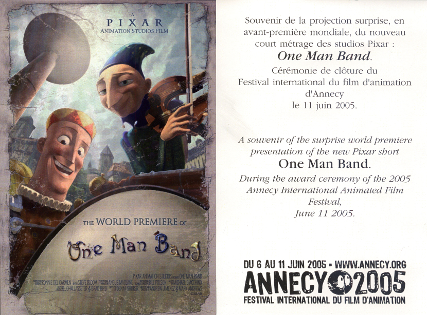 Pixar Review 16: One Man Band – Reviewing All 56 Disney Animated ...