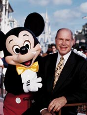 A biography of michael eisner and his views about company leadership
