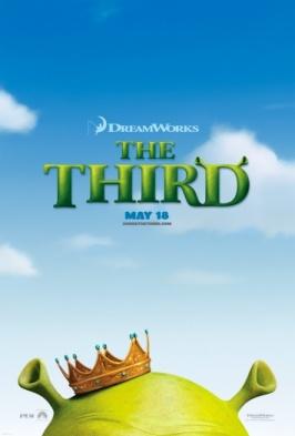 SHREK THE THIRD teaser poster