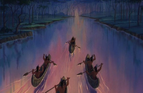 Pocahontas, une Légende Indienne [Walt Disney - 1995] - Page 13 Poca2