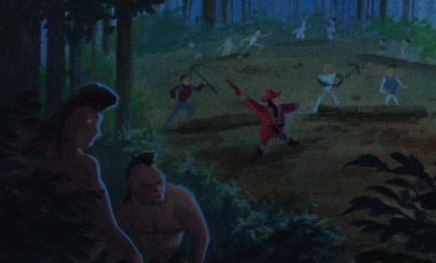 Pocahontas, une Légende Indienne [Walt Disney - 1995] - Page 13 Poca3