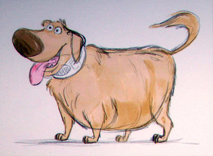 [Pixar] Là-Haut (2009) : topic de pré-sortie - Page 3 Up-dog
